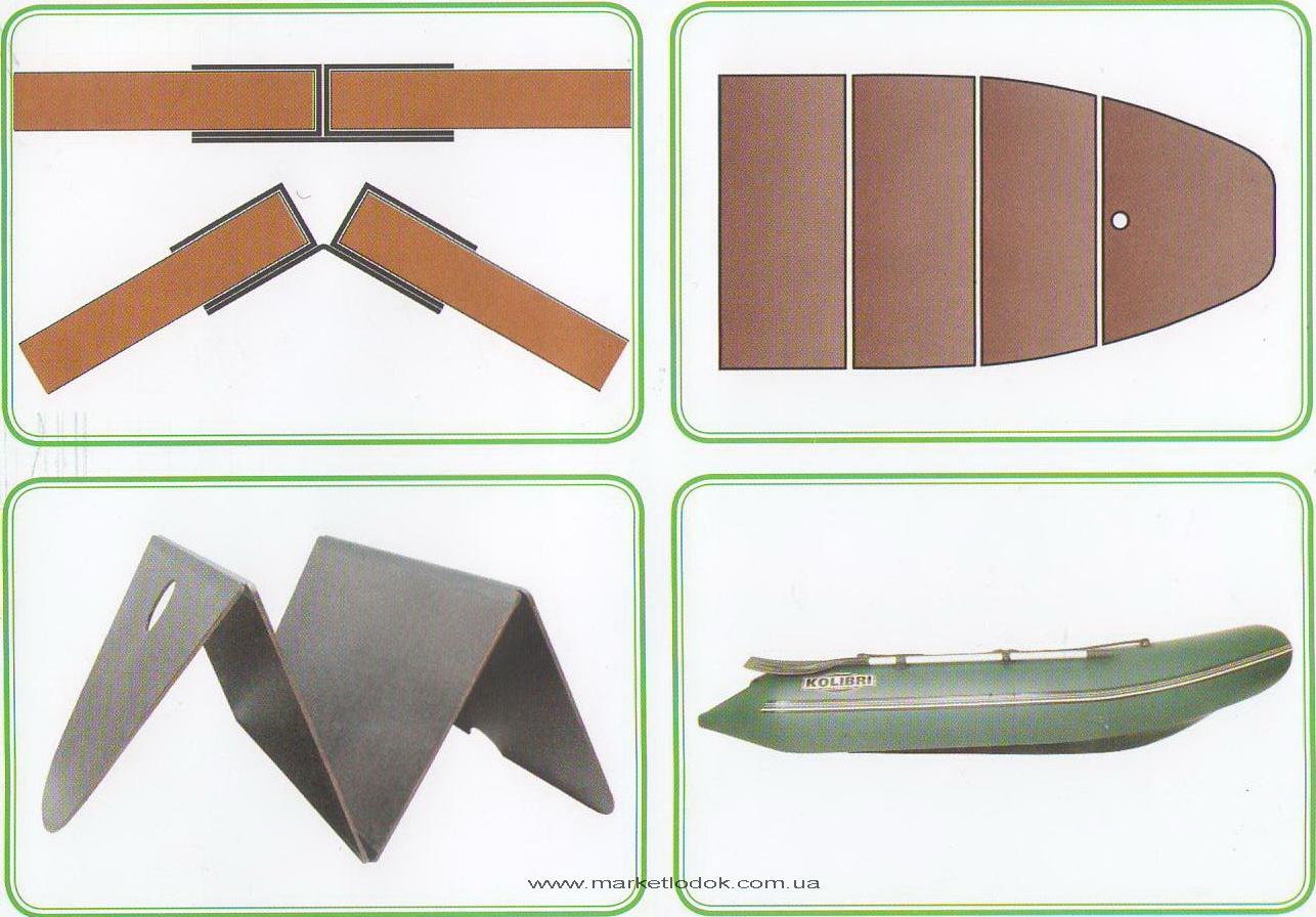 Алюминиевая слань для лодки своими руками