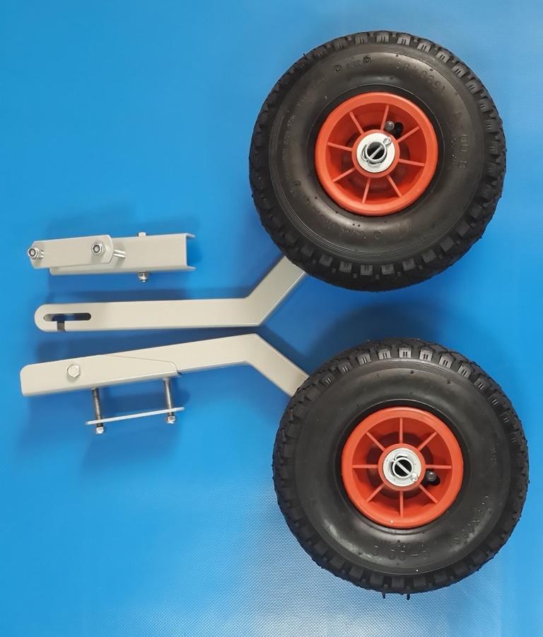 Транспортные колёса для лодки пвх своими руками 57